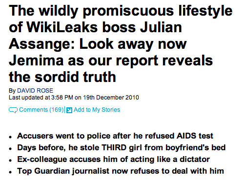 mail on sunday assange 2010-12-19