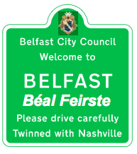Proposed possible traffic sign - Belfast Béal Feirste