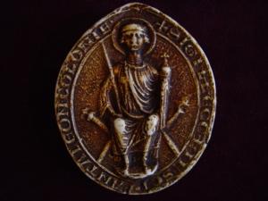 Seal of St Pantaleon in Köln