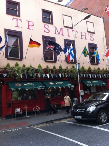 New Zealand Flag flying upside down in Dublin. © 2012 Michael Carchrie Campbell