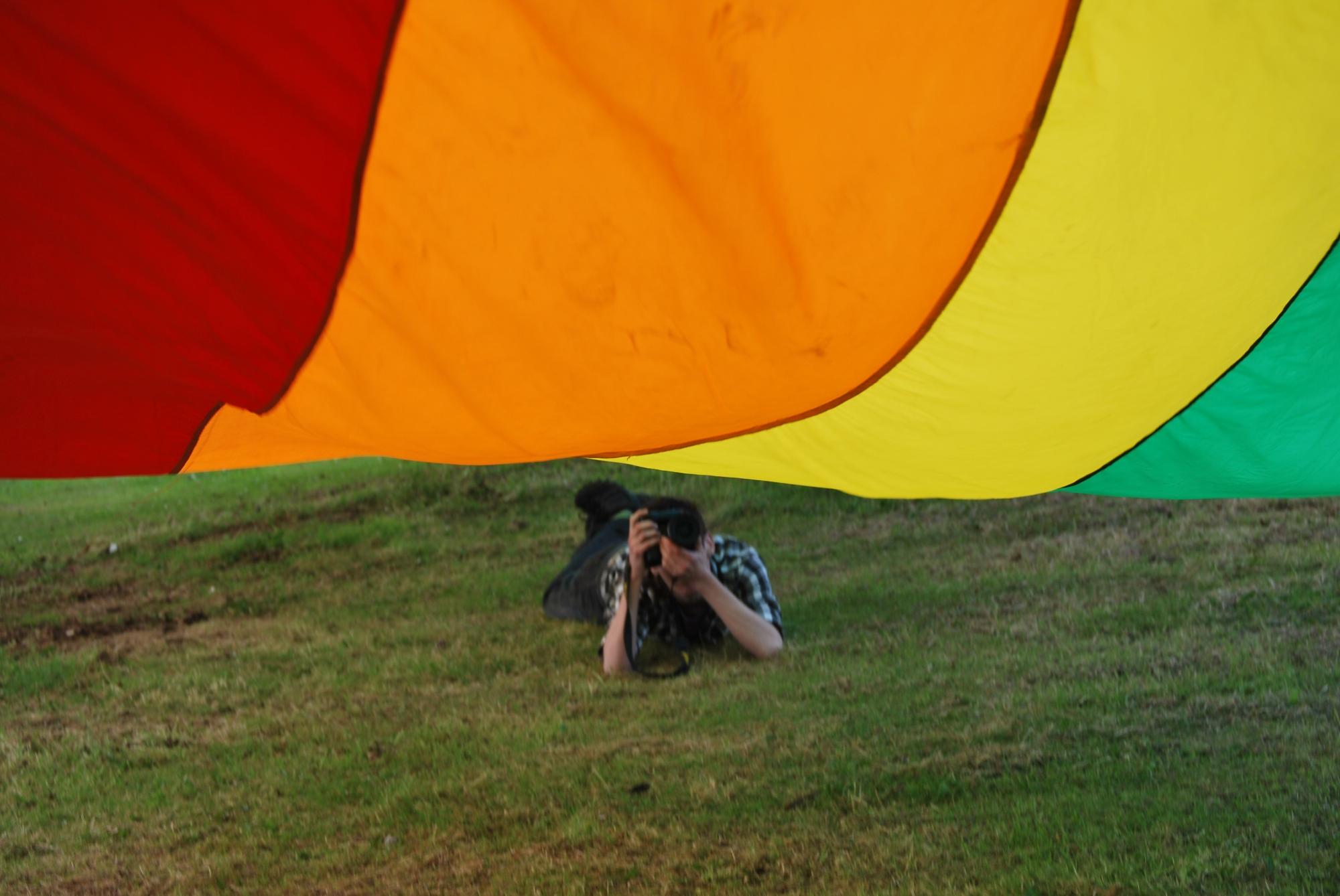 Rainbow Flag © 2011 Michael Carchrie Campbell