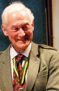 Sir Garth Morrison KT CBE, Chief Scout of the United Kingdom 1988–1996 who died recently.